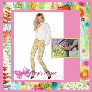 NWOT, JCrew Liberty Tresco Floral Toothpick Jeans